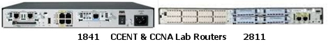 CCENT & CCNA Lab Routers