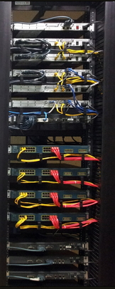 Cisco CCIE Lab Rack