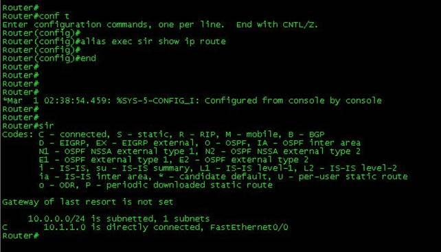 Command Abbreviation & Context Help – CertificationKits com