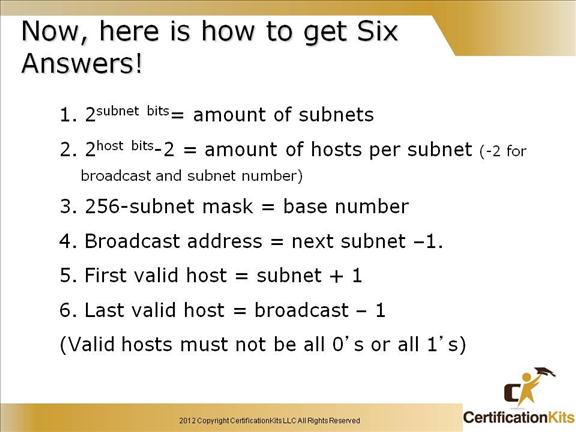 ccna common subnetting questions with answers