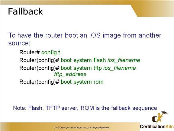 Cisco CCENT ICND1 Advanced IOS Part I – CertificationKits com