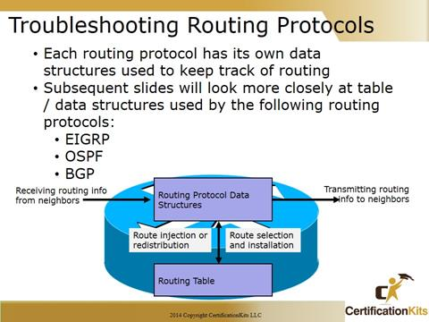 Cisco CCNA Troubleshooting Routing Protocols