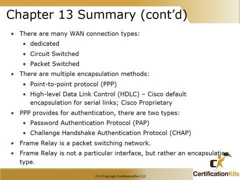 Cisco CCNA Summary