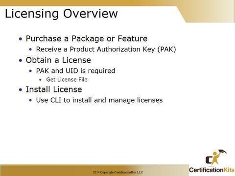 Cisco CCNA Licensing