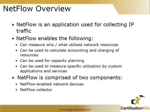 Cisco CCNA Netflow Overview
