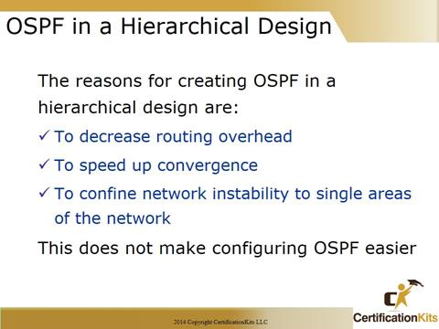 Cisco CCNA Troubleshooting OSPF Design