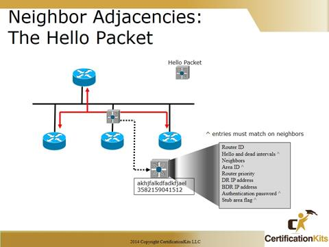 SlCisco CCNA Troubleshooting Hello Packets
