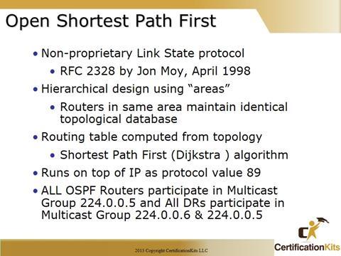 Cisco CCNA OSPF Overview