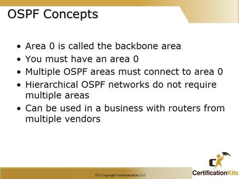 Cisco CCNA OSPF Concepts