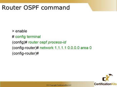 Cisco CCNA OSPF