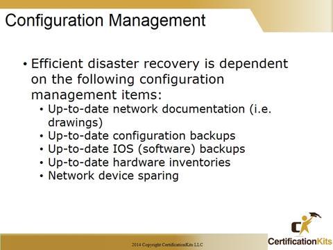 Cisco CCNA Configuration Management