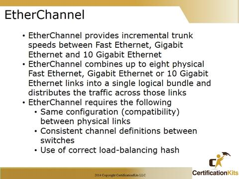 Cisco CCNA Etherchannel