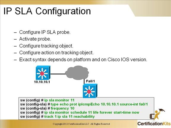 cisco ccnp switch ip sla configuration ccnp switch service level 7