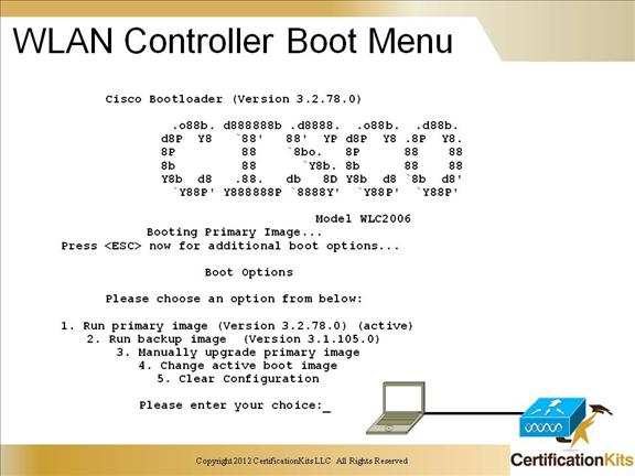 Cisco CCNP SWITCH Wireless LAN Controllers