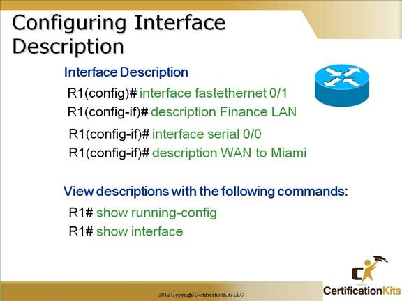 Cisco CCNA IOS, CLI and Admin Functions Part III