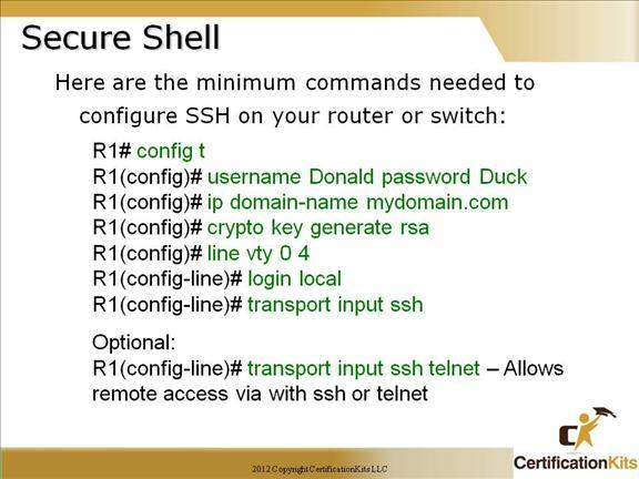 Cisco CCNA IOS, CLI and Admin Functions Part III – CertificationKits com