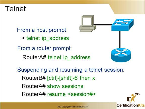 Cisco CCNA Network Services and Troubleshooting Tools Part I