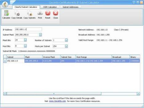 CCNA Subnet Calculator